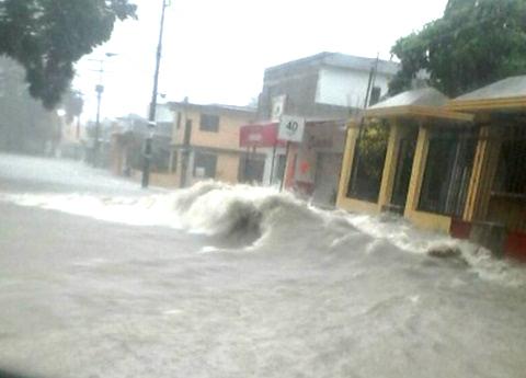 Lluvias e inundaciones dejan un muerto en Tamaulipas