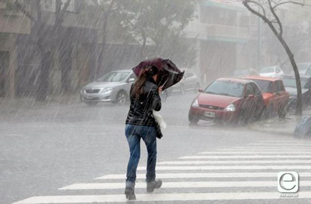 Protección Civil federal prevé lluvias torrenciales para Veracruz