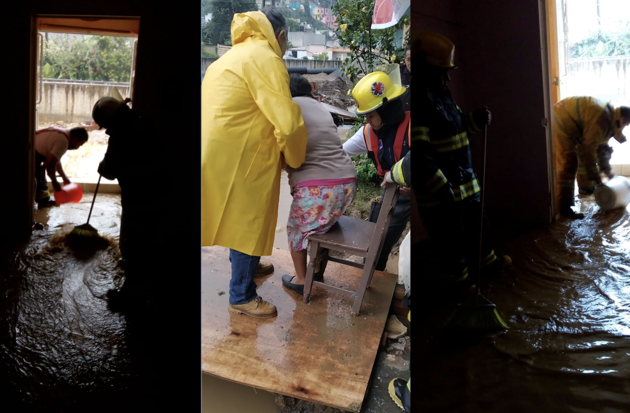 Lluvias dejan al menos 20 casas inundadas en Xalapa