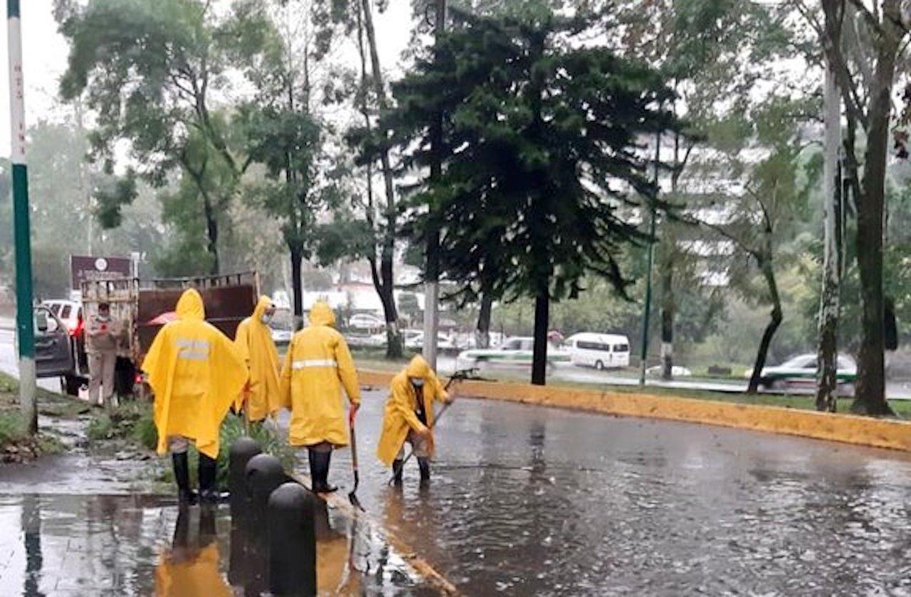 Lluvias del FF#35 dejaron afectaciones en 17 colonias xalapeñas