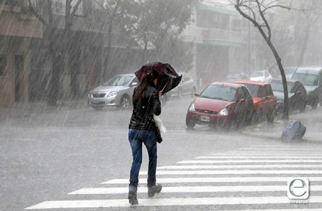 En esta zonas de Veracruz llovería durante esta semana