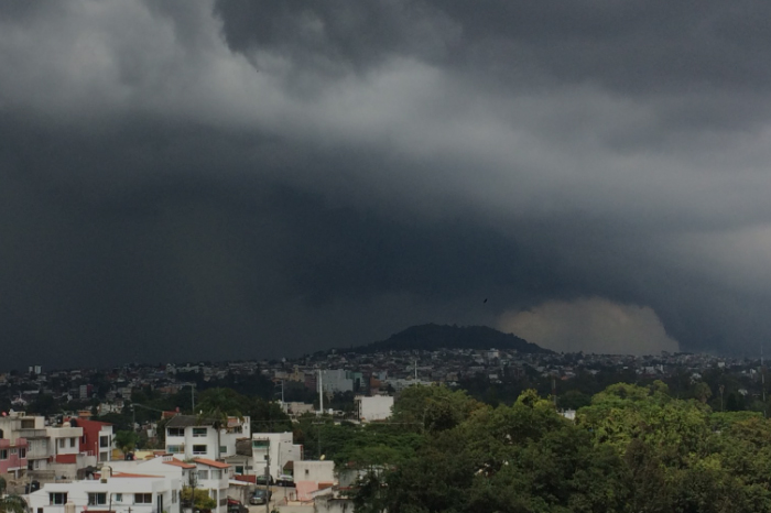 Se esperan fuertes lluvias y viento del norte en Veracruz por frente frío