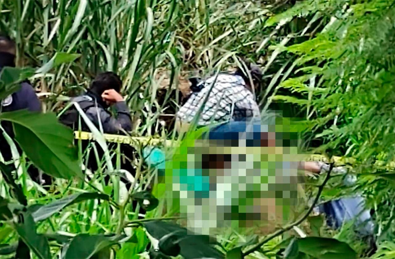 Localizan  restos humanos en Amatlán