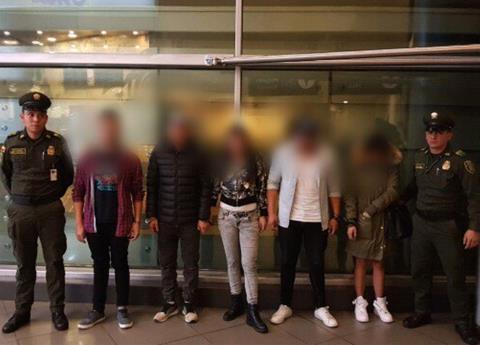 """""""Los Millenials"""", narcos que se hacían pasar por turistas"""