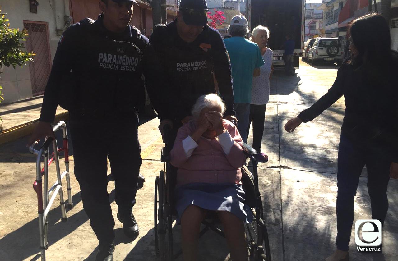 Desalojan a Doña Luchita, a sus 88 años fue el único hogar que conoció