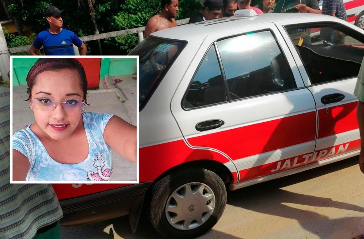 Lulú fue asesinada cuando viajaba en un taxi en Jaltipan