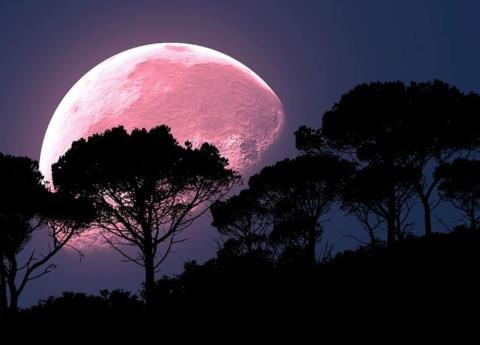 Hoy habrá luna de fresa ¿Ya sabes qué es?