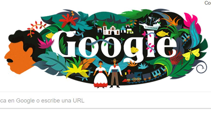 Google recuerda así a Gabriel García Márquez