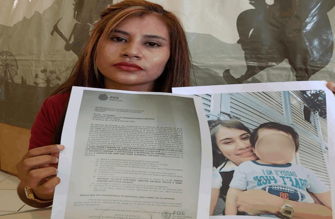 Madre denuncia sustracción de menor de un año, en Medellín