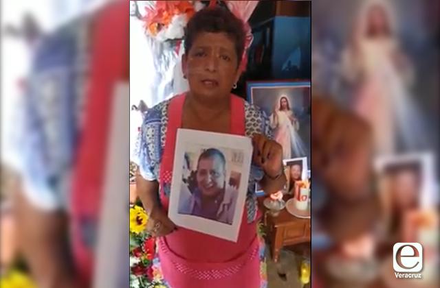 VIDEO | Madre angustiada busca su hijo Jaime en Amatlán