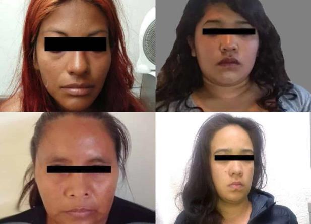 5 mujeres presas por vejaciones contra sus hijos