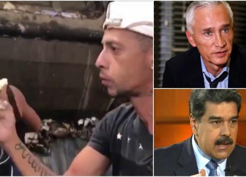 Video de venezolanos comiendo basura enfureció a Maduro