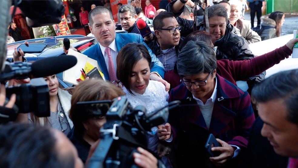 Rosario Robles es vinculada a proceso y trasladada a Santa Martha Acatitla