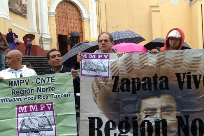 Maestros del MMPV denuncian amenazas por organizar marcha