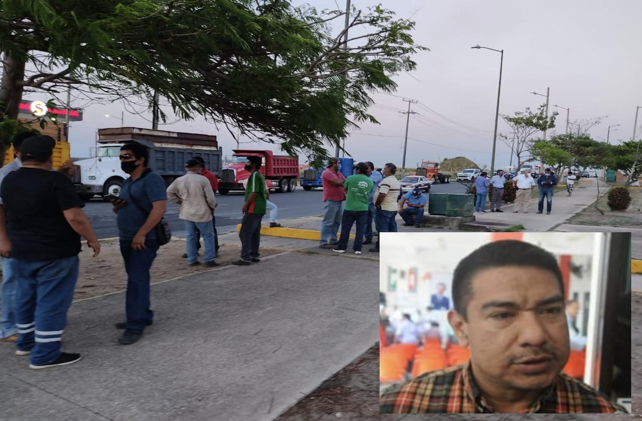 Detención de transportista provoca manifestaciones en el sur
