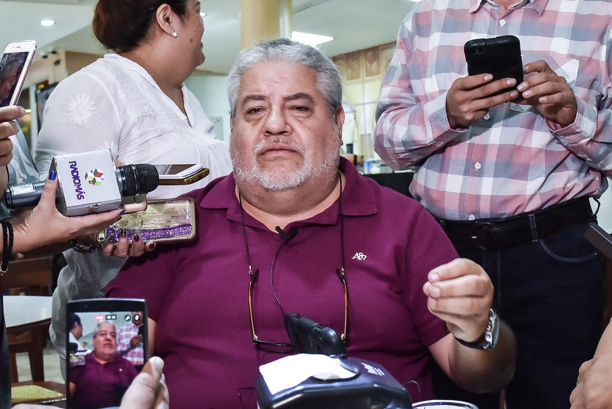 Manuel Huerta defiende a Cuitláhuac de críticas y supuesta remoción del cargo