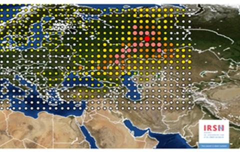 Rusia provoca nube radioactiva que impactó a toda Europa