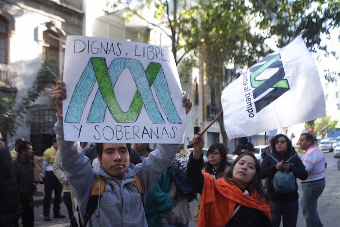 UNAM, IPN, UAM marchan por UV:
