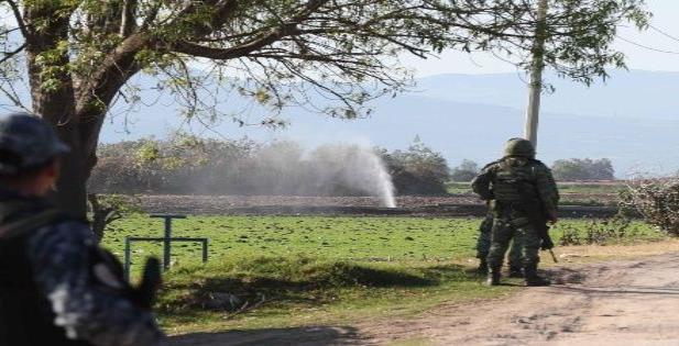 Matan a elemento de la Marina cerca del ducto Tuxpan-Azcapotzalco