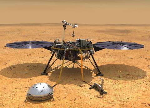 Así fue el exitoso aterrizaje de la sonda Insight en Marte