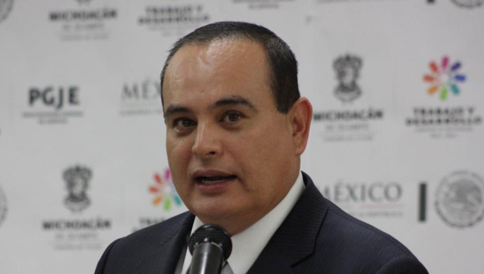Muere titular de SSP en Michoacán tras caída de helicóptero