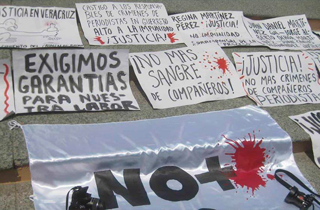 Más de 30 periodistas han sido amenazados en 2 meses en Veracruz