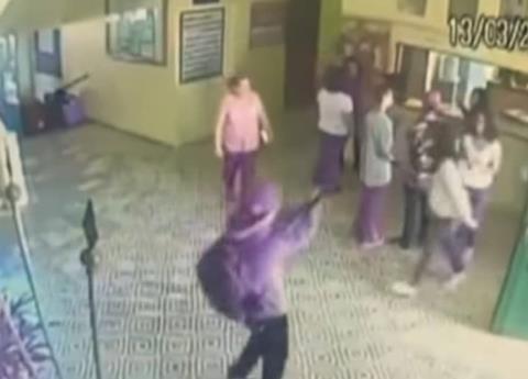 VIDEO: Masacre en colegio de Brasil