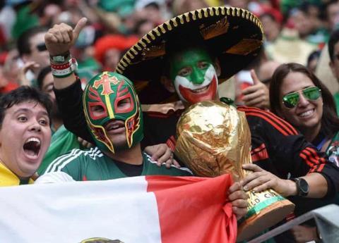 No quieren máscaras mexicanas en Rusia 2018
