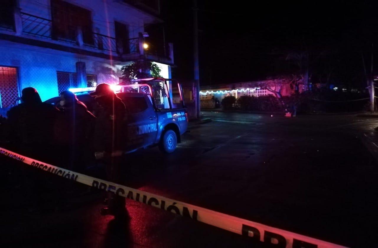 Matan a dos hombres en Primer Barrio de Rafael Delgado