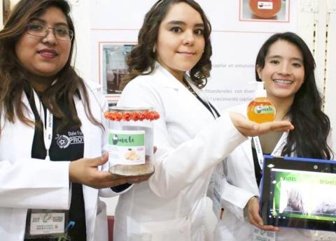 ¿Poco pelo? Estudiantes del IPN crearon un producto contra la calvicie