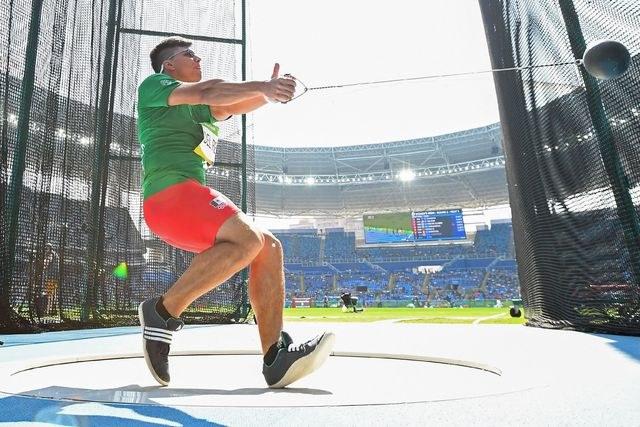 Diego del Real buscará medalla en lanzamiento de martillo