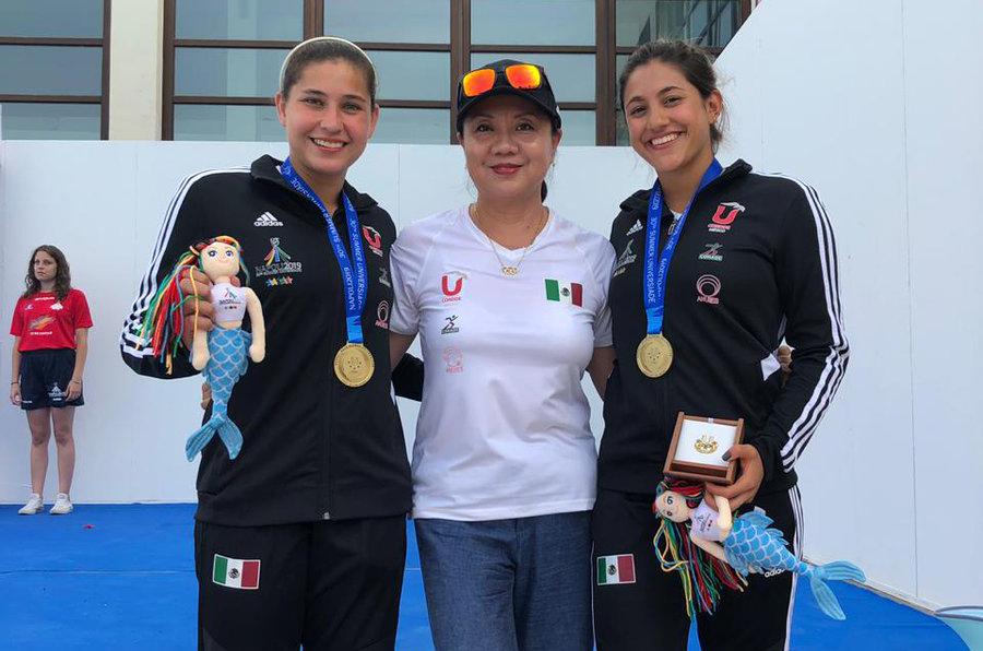 Veracruzana obtiene oro para México en Universiada Mundial