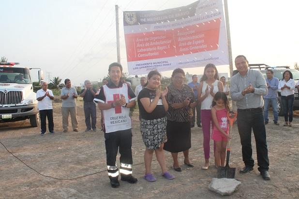 Ayuntamiento de Medellín simuló creación de Cruz Roja