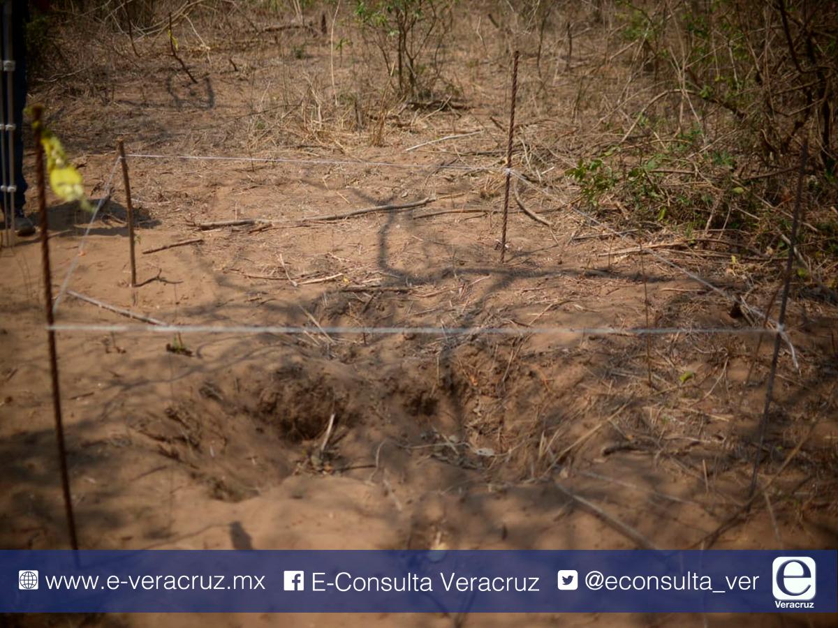 Fiscalía abandona megafosa en Veracruz, ligada a desapariciones masivas