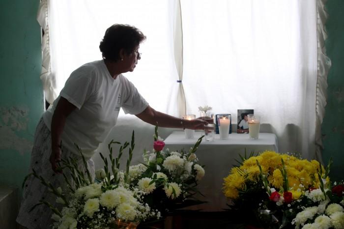 Castigo a culpables exige viuda de periodista Juan Mendoza