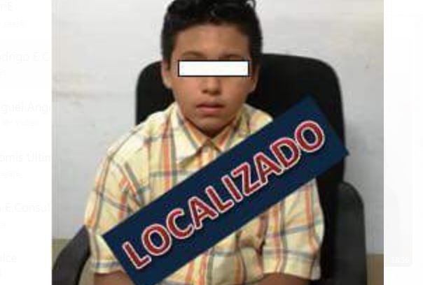 Localizan a menor buscado en Veracruz; estaba con un familiar