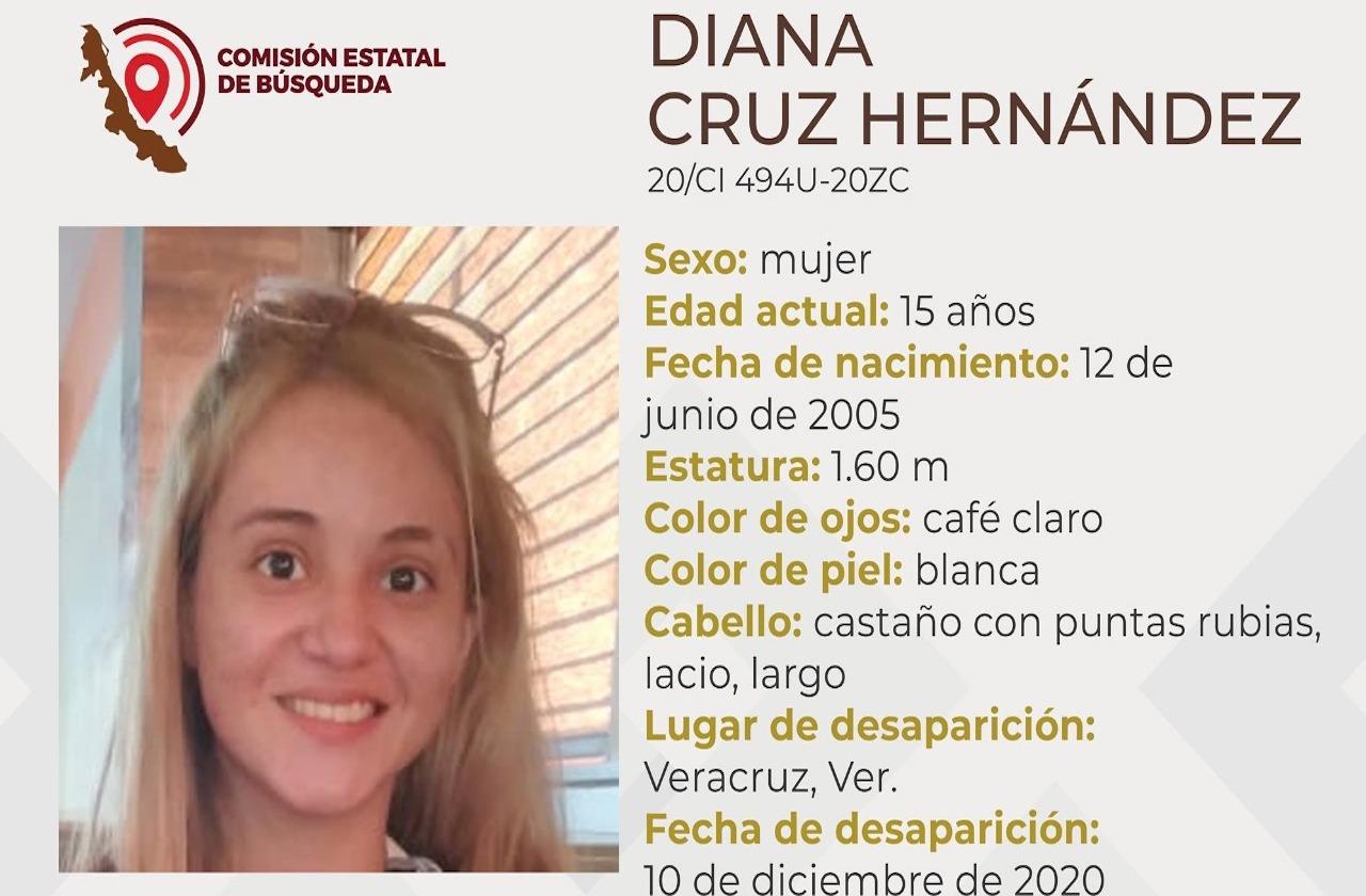 Menor de 15 años desaparece en Puerto de Veracruz