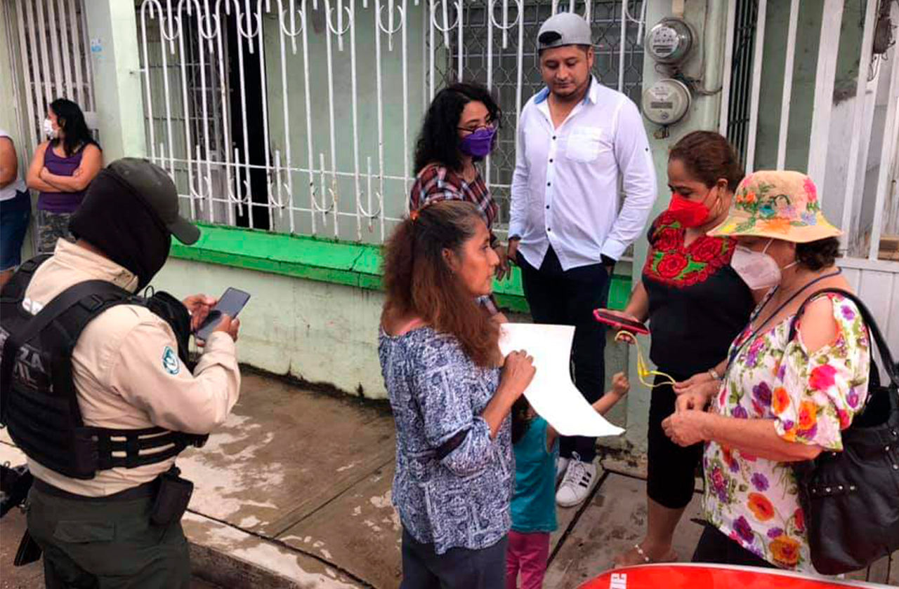 Menor de 2 años escapó de su casa en Acayucan, fue resguardada por el DIF