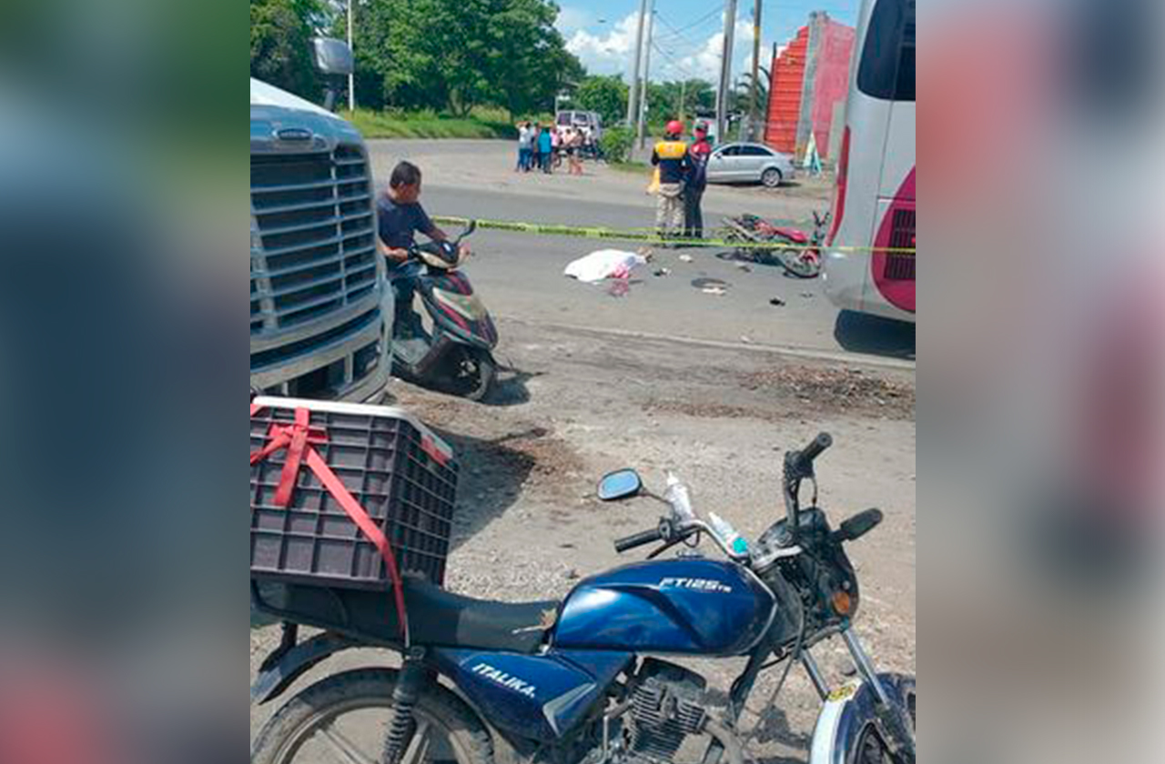Menor fallece tras ser atropellada por un autobús en Tierra Blanca