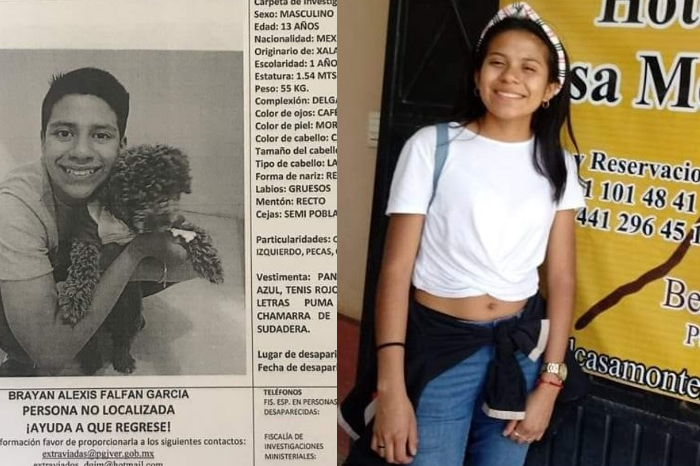 Desaparecen dos menores de edad en Xalapa