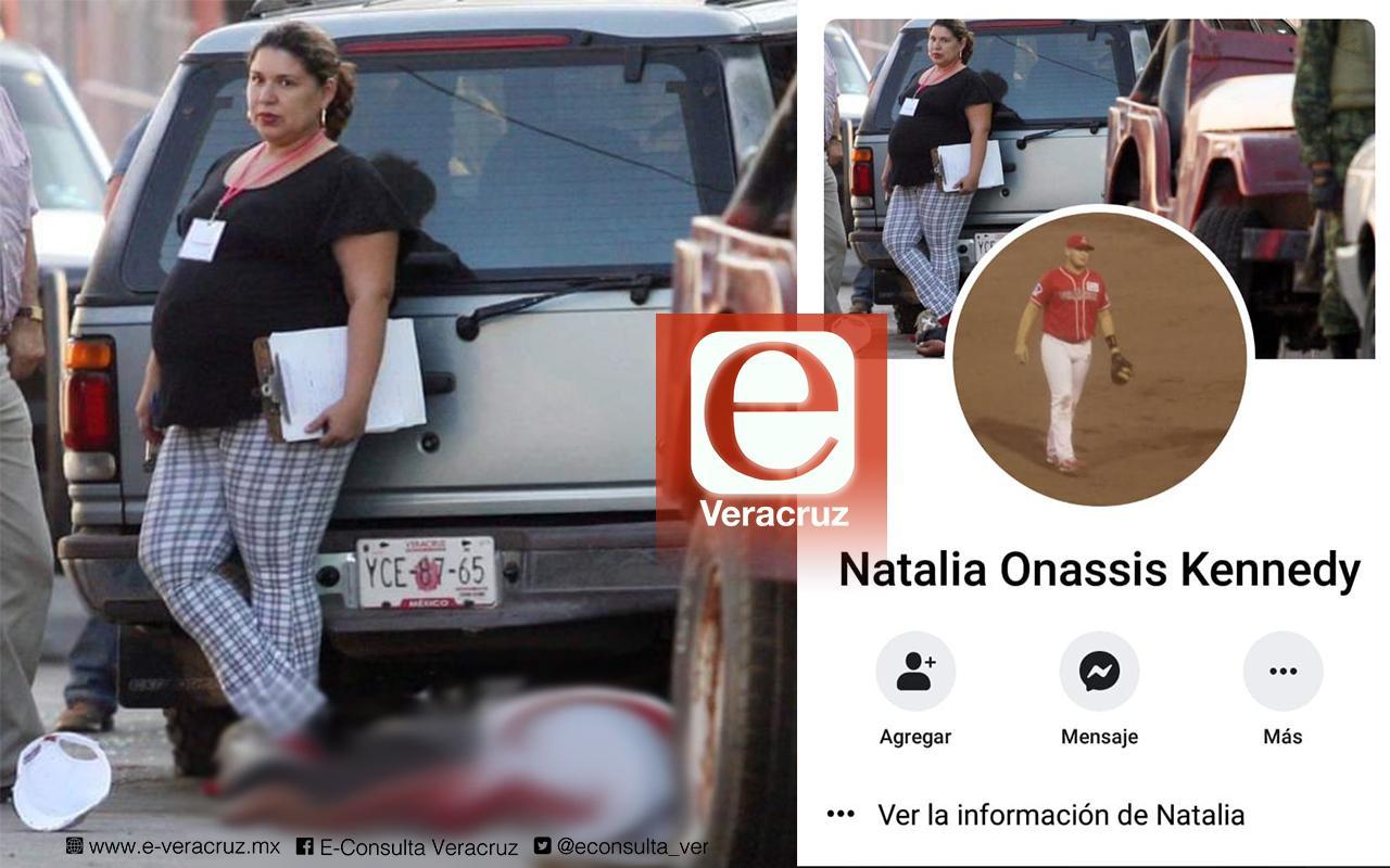 Fiscal de Veracruz presume en Facebook foto junto a persona asesinada