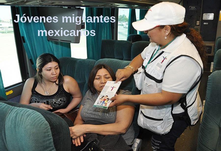 Jóvenes migrantes mexicanos, sus razones
