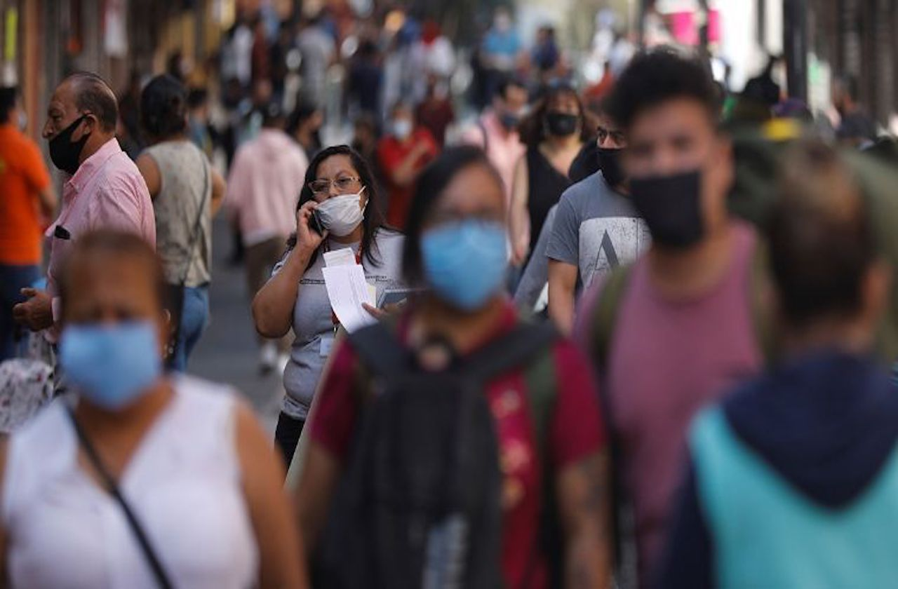 México, séptimo a nivel mundial por casos de covid