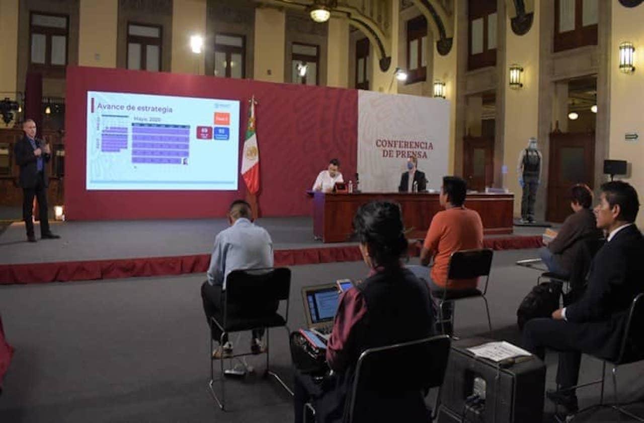 Jornada de Sana Distancia cerró con 9 mil 930 decesos por covid