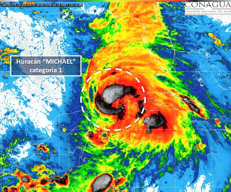 ¿Golpeará el huracán 'Michael' la Península de Yucatán?