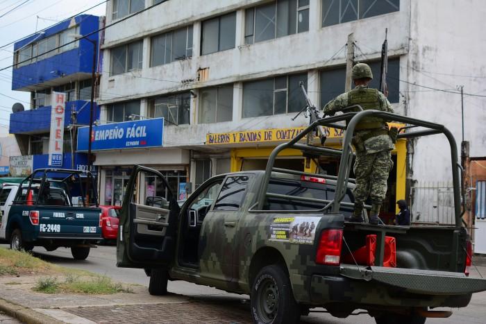 Once migrantes centroamericanos secuestrados en Coatzacoalcos