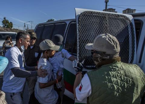 Deportarán a migrantes que intentaron cruzar la frontera