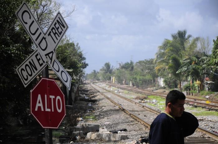Incrementa presencia de migrantes en cruceros de Boca del Río