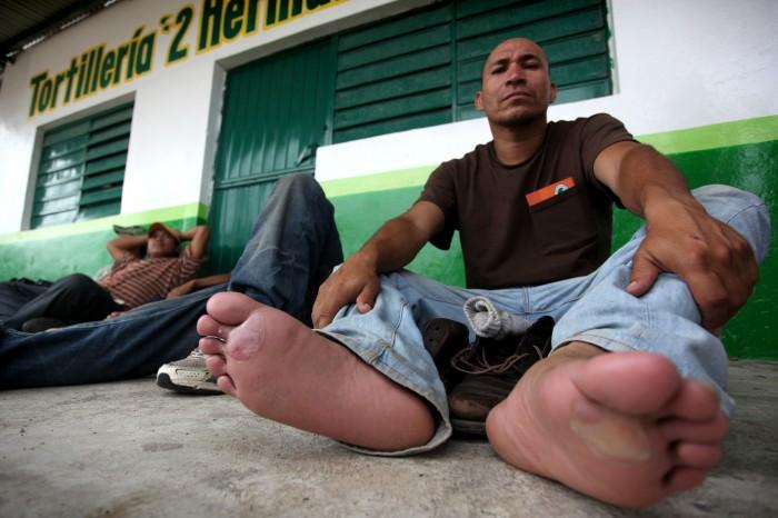Periodistas invitan al Zapatón Migrante en Xalapa