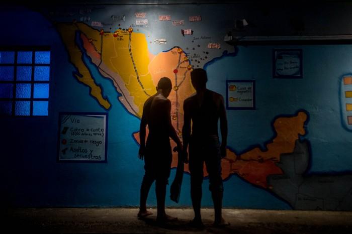 Menor hondureño decidió migrar a EU por cuenta propia